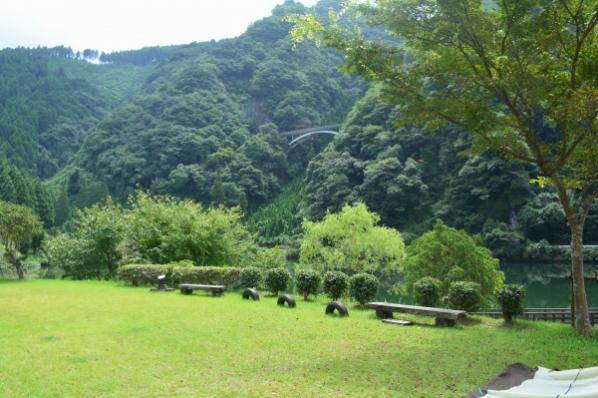 たきつば!キャンプ親父への道その③【グリーンパル日向神峡】の画像