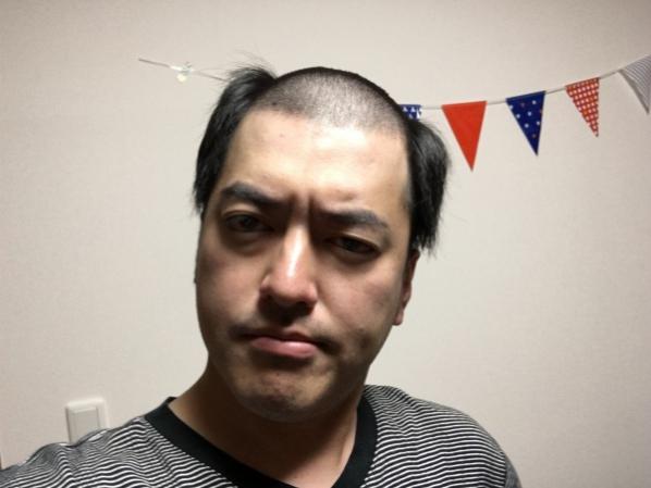 タキツバがなぜ丸坊主・・・いや、スヌーピーヘアーになったのか。の画像
