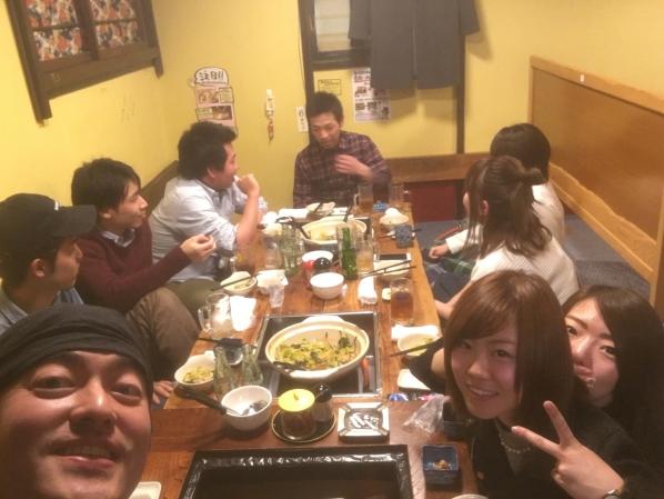 赤門屋の元アルバイトのみんなが食べに来てくれたのです!の画像