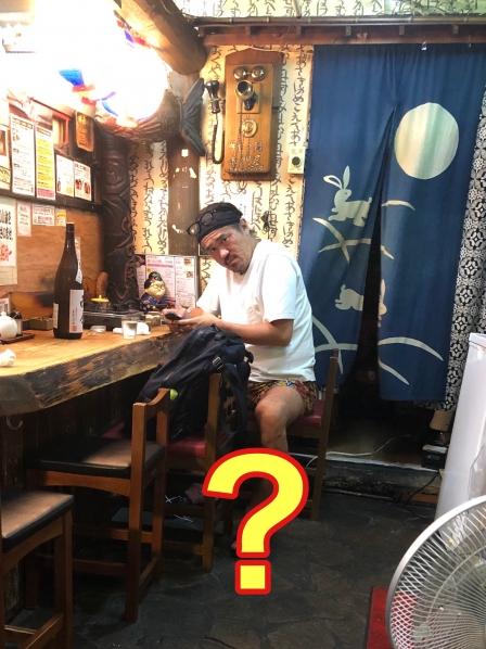 短パン社長ことオクノヤさんが赤門屋に来てくれました!!の画像